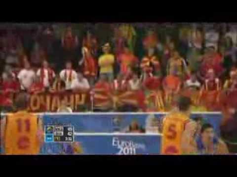 Македонската репрезентација на Европското првенство во кошарка