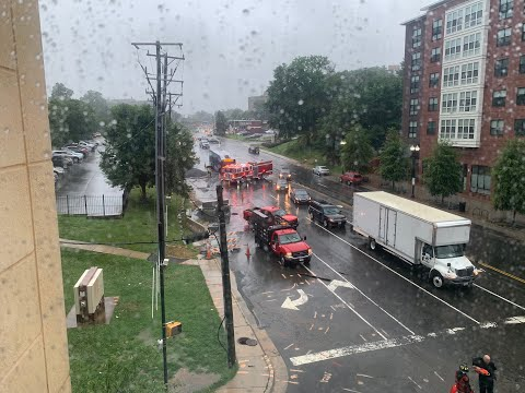 Catastrophic Flooding Takes Place in the DC Area - July 2019