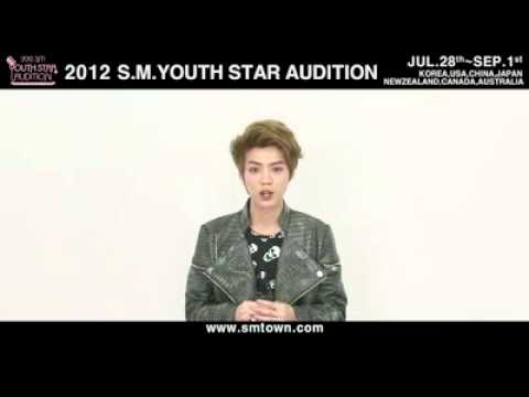 2012 S.M. YOUTH STAR AUDITION (promo vid) - EXO K, EXO M, SHINEE, SNSD,