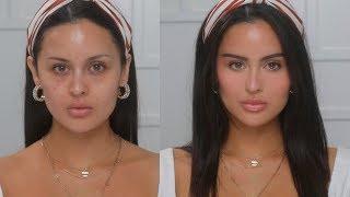 Natural No Foundation Face Lift Makeup Tutorial