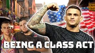 Dustin Poirier being a class act