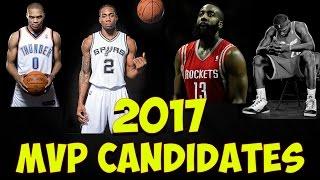 NBA MVP Race 2016 - 2017 | Russell Westbrook, James Harden, Lebron James, Kawhi Leonard