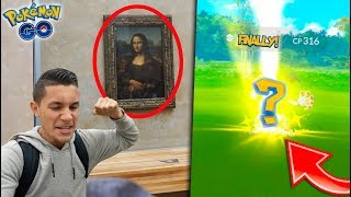 I FINALLY FOUND THIS POKÉMON! LAST DAY OF POKÉMON GO IN PARIS + SEEING THE MONA LISA!