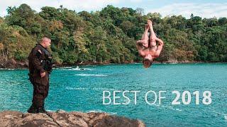 Best of 2018 Cliff Jumping | Robert Wall