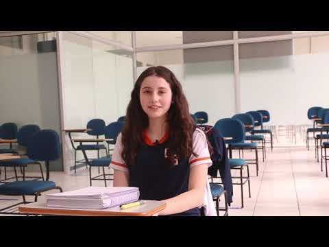 Giovana Araújo, aluna do 8° ano