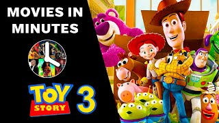 TOY STORY 3 in 4 minutes (Movie Recap)