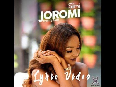 Simi - Joromi Lyric Video