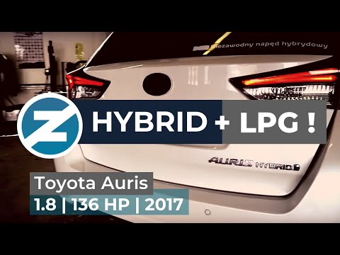 ZENIT | Hybrid Toyota Auris with Zenit LPG system – even more     economical and ecological!