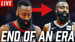 BREAKING NEWS!! JAMES HARDEN TRADED TO BROOKLYN NETS LIVE REACTION   NBA NEWS