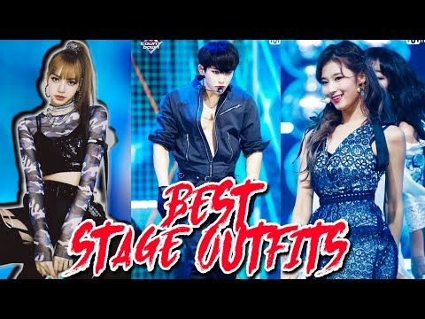 K-POP BEST STAGE OUTFITS OF 2018 -  [TOP 100]