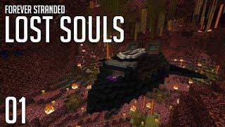►Forever Stranded: Lost Souls - STRANDED!   Ep. 1   Modded Minecraft Survival◄   iJevin