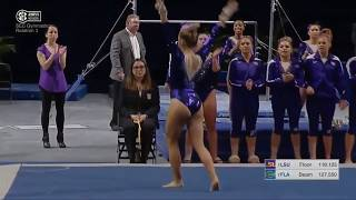 NCAA Gymnastics Falls 2018 - Part 1