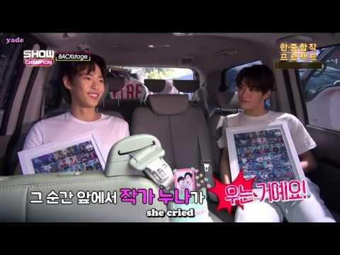 [ENG] 150704 SMROOKIES Doyoung & Jaehyun Backstage Cut