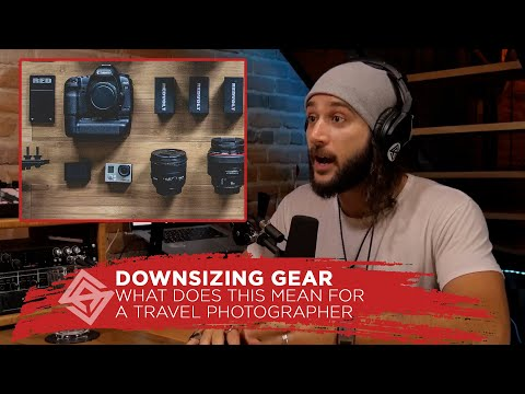Downsizing Gear As A Travel Photographer // What's in my bag with Mark Harrison Travel Creator