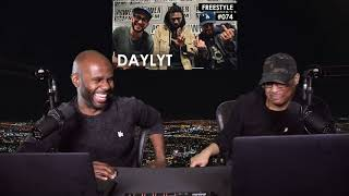 Daylyt Freestyle w/ The L.A. Leakers - Freestyle #074 (REACTION!!) (PART 1)
