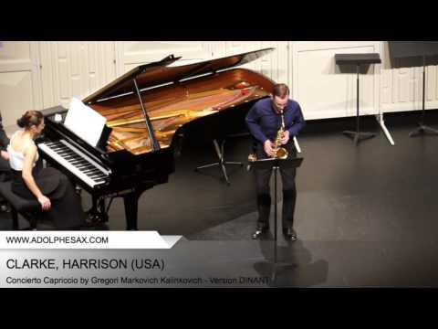 Dinant 2014 - CLARKE, Harrison (Concierto Capriccio by Gregori Markovich Kalinkovich - v. DINANT)