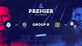 BLAST Premier Fall Groups: G2 vs. BIG, NIP vs. Winner of G2/BIG | Group B, Day 3