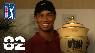 Tiger Woods wins 2001 WGC-NEC invitational Chasing 82
