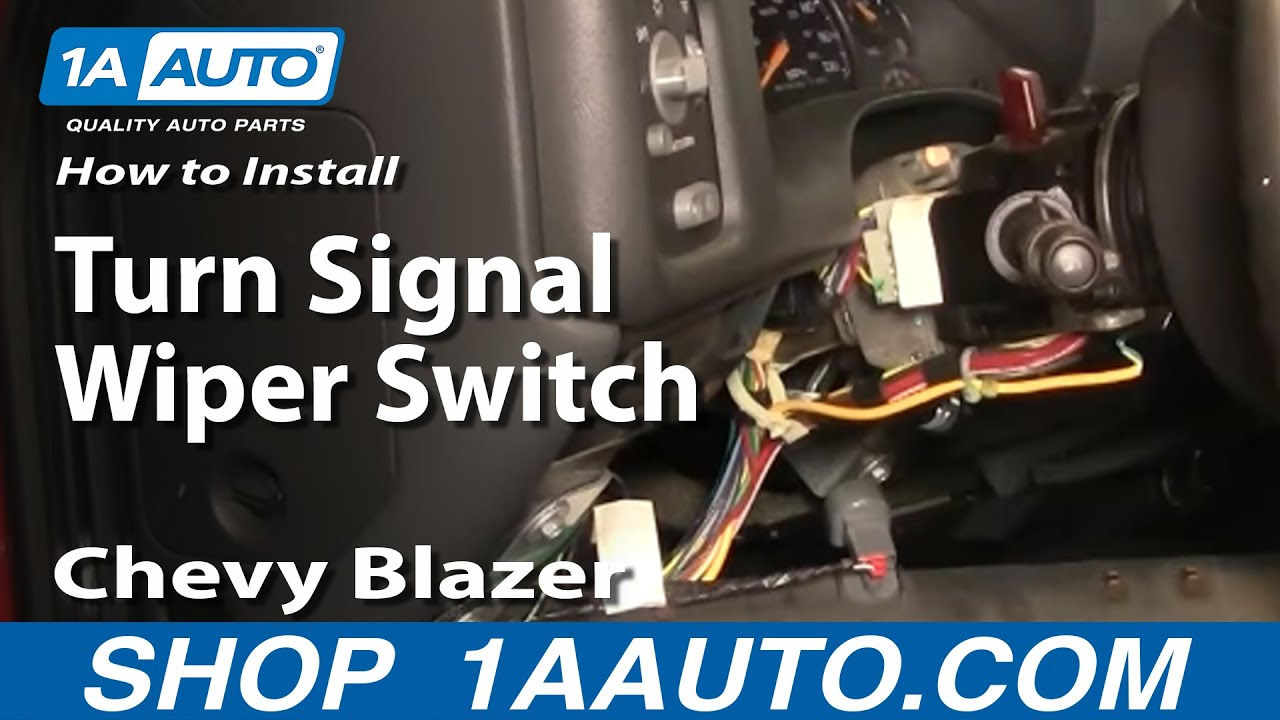 fuse box locks how to install replace turn signal wiper switch chevy  how to install replace turn signal wiper switch chevy