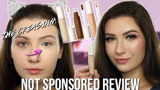 FENTY BEAUTY PRO FILT'R CONCEALER REVIEW | All Day Wear Test and Swatches | Shade 120
