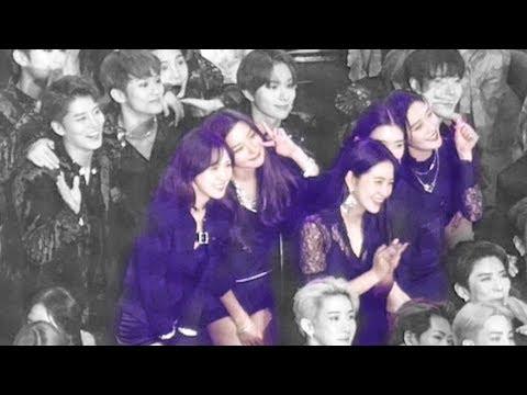 190115 레드벨벳 Red Velvet (NCT와 친목 friendship) : 엔딩 사진 Ending Photo : Edited fancam : 고척돔