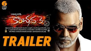 KANCHANA 3- Telugu Official Trailer- Raghava Lawrence..
