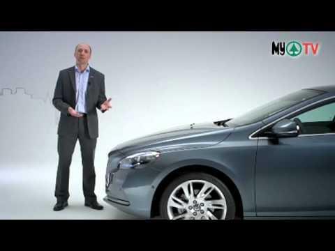 Volvo V40 - airbag za pešake!