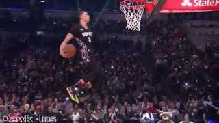 (All 2015 Sprite Slam Dunk Contest Dunks) LaVine KILLS IT!