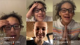 Millie Bobby Brown Surprises a Fan On Instagram LIVE! [ 15 February 2018  ]