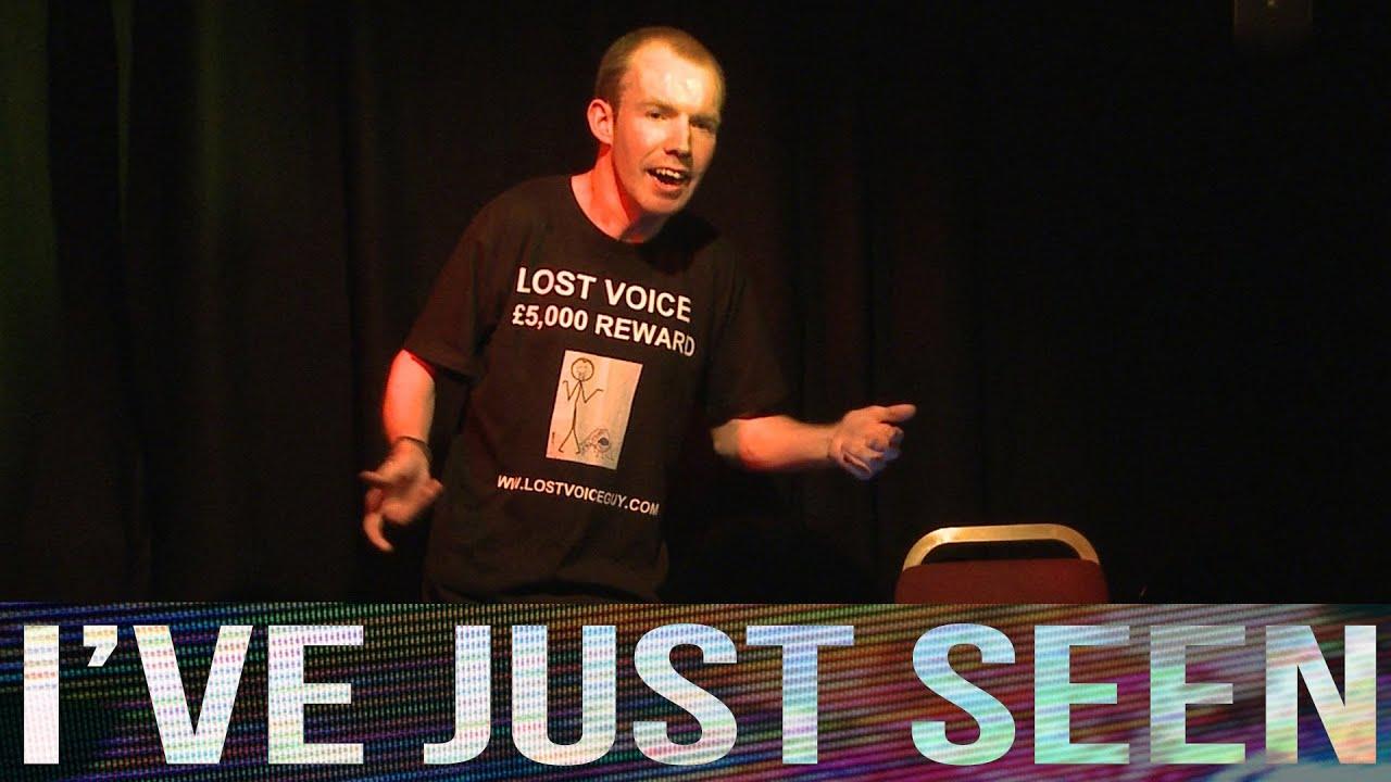 Interview: Lost Voice Guy at Edinburgh Fringe 2013 - The ...