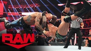 The Viper sends brutal message to Team Hogan: Raw, Oct. 28, 2019