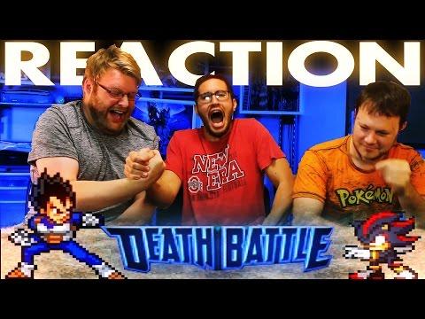 Vegeta VS Shadow DeathBattle REACTION!!