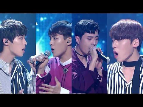 프로듀스101 시즌2 Amazing Kiss 직캠 합본 (보컬-서성혁,윤희석,이건희,정동수)