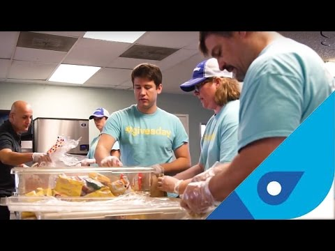 The #giveaday Challenge:   Blue Jay Wireless is challenging the more than 28 million small businesses in the U.S. to donate one day each month to volunteering in their respective communities. That adds up to over 2 billion hours of time donated. Imagine all the good that can be done using that time to volunteer for a good cause. Blue Jay and their #giveaday program has been making a difference in the community for about a year now and is now challenging other businesses to do the same.