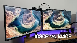 Lets Talk: 1080p vs 1440p: Is 1080p a dying breed or still strong for PC Gaming, Dual Monitors setup