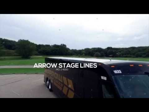 Arrow Stage Lines' New MCI Charter Bus