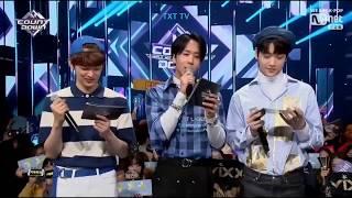 TXT YEONJUN SOOBIN And VIXX RAVI Special MC Cut @ M Countdown 190321