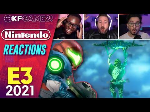 Nintendo Direct E3 2021 Kinda Funny Live Reactions