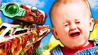 DUMBEST KID EVER DESTROYED in EPIC BO3 1V1! (Black Ops 3 Trolling)