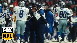 Troy Aikman on Jimmy Johnson being voted into HOF: 'He's gonna look real good in gold'   FOX NFL