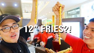 LONGEST FRENCH FRIES IN PHILIPPINES