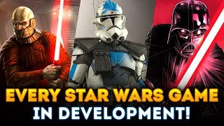 EVERY Star Wars Game Officially In Development RIGHT NOW! EA Play Reveal Coming?