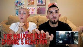 "The Walking Dead Season 8 Episode 5 ""The Big Scary U"" Reaction - SPOILER"