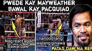 Pag TULAK na Ginawa ni Mayweather Ok lang kay Bayless pero kay Pacquiao Pinagbawal