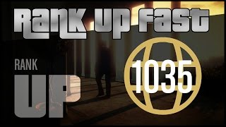 FASTEST WAY TO RANK UP *SOLO* IN GTA5 ONLINE !!!