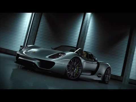 Porsche 918 Spyder Concept Promotional Video