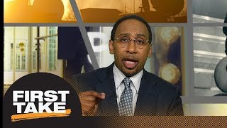 Stephen A. Smith reacts to Aaron Rodgers comments on President Trump   First Take   ESPN
