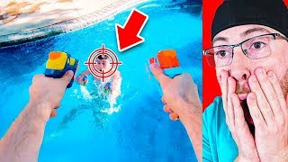 The Best NERF Battle EVER RECORDED!
