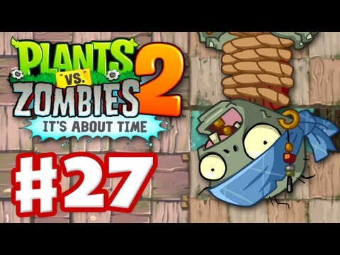 Plants Vs. Zombies 2: It's About Time - Gameplay Walkthrough Part 27 - Dead Man's Booty (iOS) - Smashpipe Games