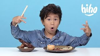 Chinese Food | American Kids Try Food from Around the World | Ep 6